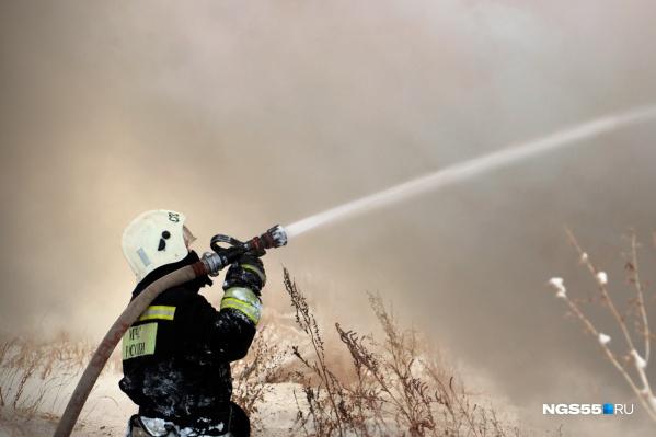 Пожарным потребовалось семь часов, чтобы справиться с огнём (фото из архива)