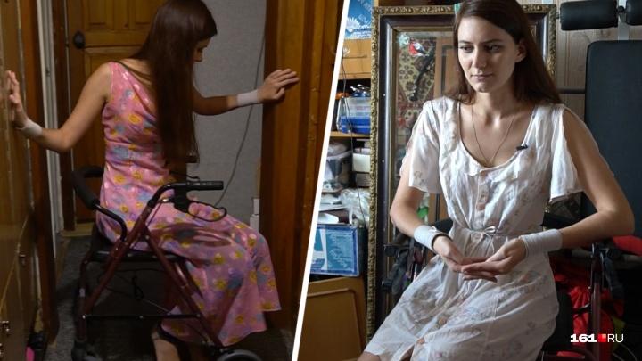 Отнялись ноги от гриппа: ростовчанка Виктория стала инвалидом после обычной болезни
