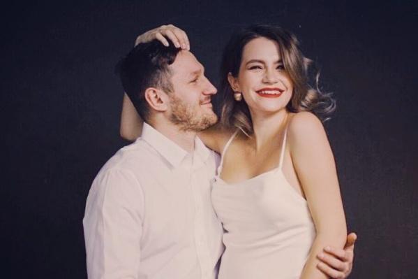 Николай Олюнин и его супруга Мария
