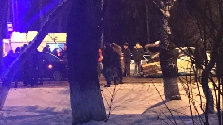 На Барнаульской легковушка сбила четырехлетнего ребенка, переходившего дорогу по «зебре»
