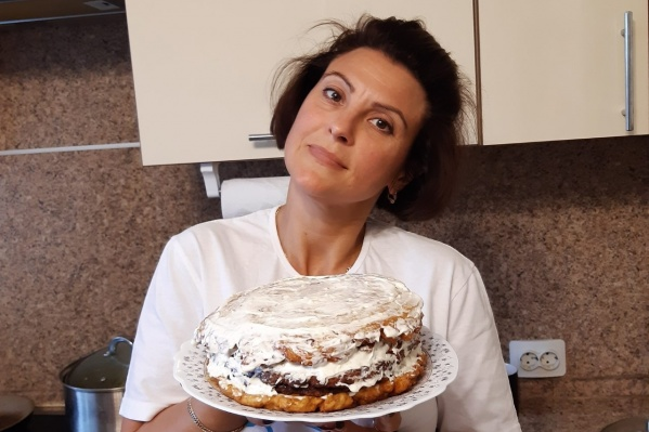 Пирог выглядит аппетитно!