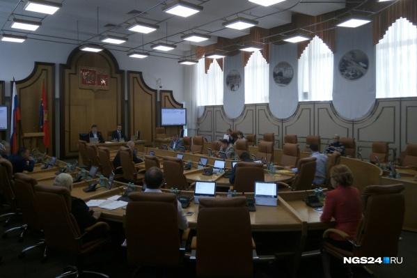 Конкурс по отбору кандидатур на должность мэра депутаты предложили назначить на 11 октября