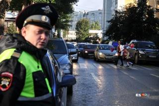 В этом году в Екатеринбурге произошло 92 ДТП с пешеходами