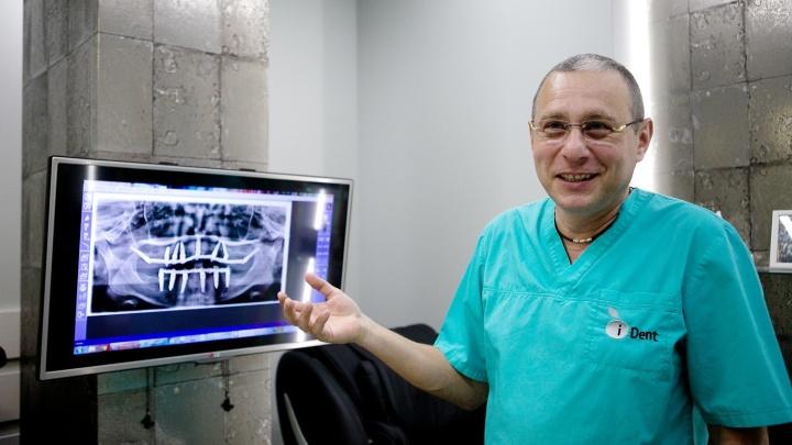 Новосибирские имплантологи берутся за восстановление зубов даже в безнадёжных случаях