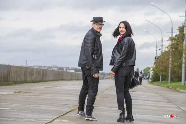 Стефан и Полина живут в Берлине, иногда приезжают в Архангельск и любят отдохнуть в Пинежье