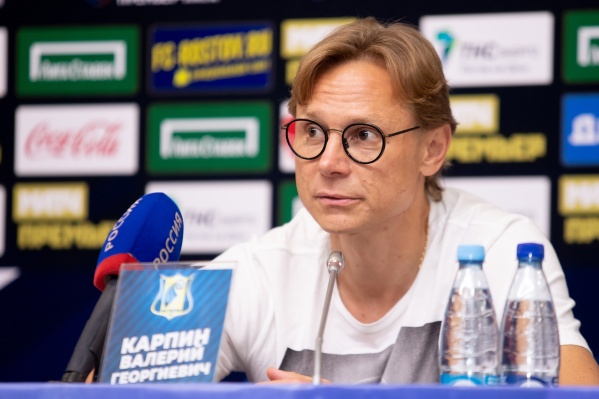 Валерия Карпина за это же нарушение оштрафовали и после матча с «Локомотивом»