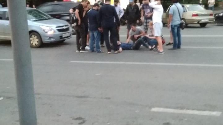 Возле парка Якутова в Уфе водитель Chevrolet сбил велосипедиста
