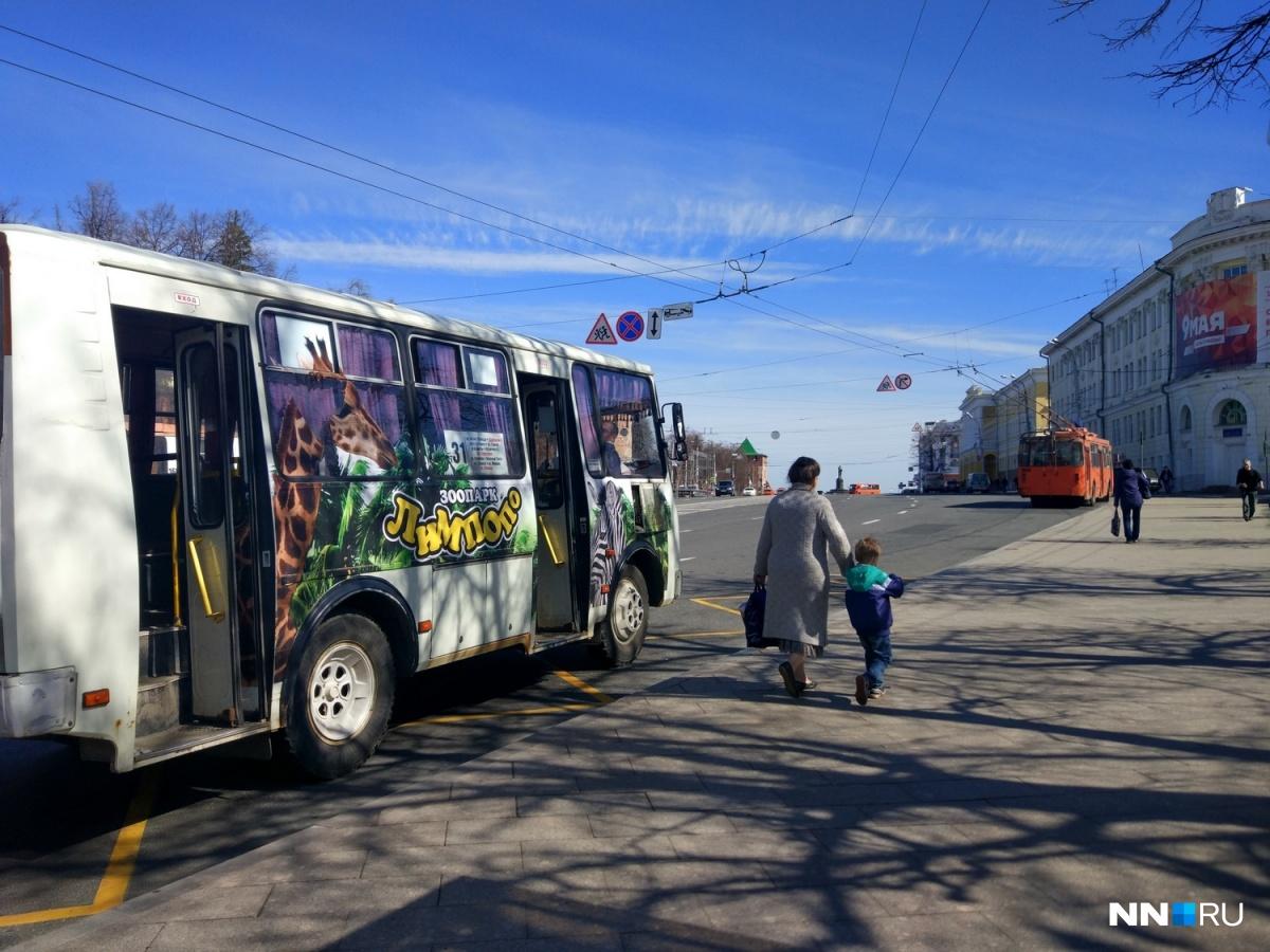 Общественного транспорта ограничения не коснутся