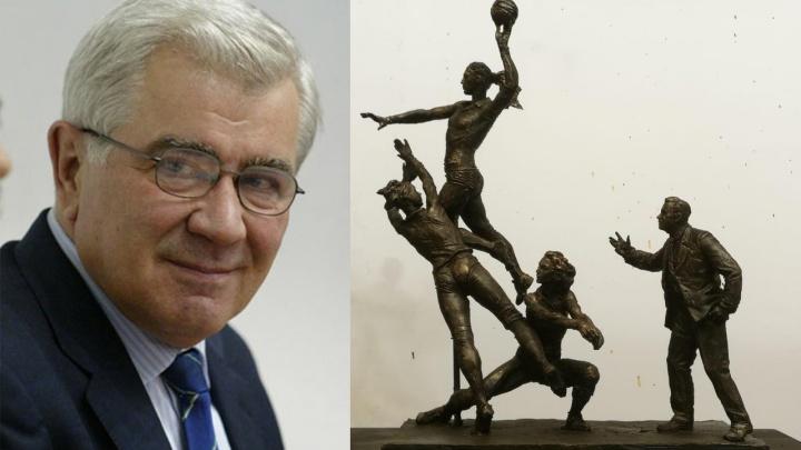 6 тонн бронзы: перед ДИВСом возведут скульптуру, посвященную «Уралочке» и Николаю Карполю
