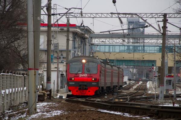 Строительство железнодорожной линии началось в 2015 году