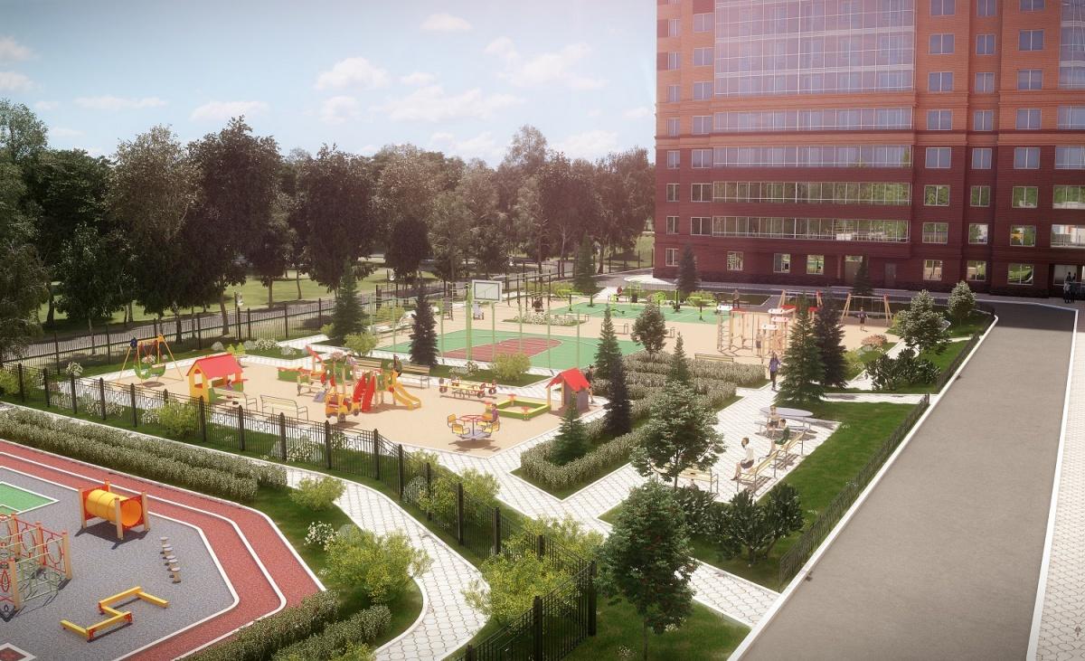 Однокомнатная квартира в новостройке с парком продается за 15 042 рублей в месяц без первого взноса