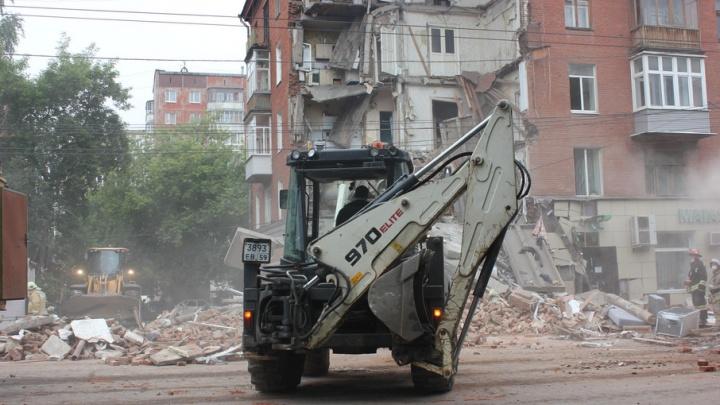 В доме на Куйбышева, 103, в котором рухнул подъезд, приступили к заключительному этапу ремонта
