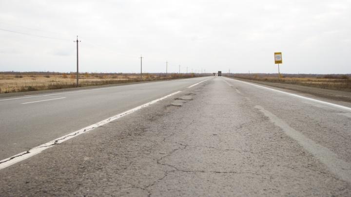 Зауральский участковый помог на трассе сербскому дальнобойщику