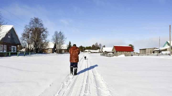 Архангельская деревня Морозилка вошла в тройку населенных пунктов с веселыми именами