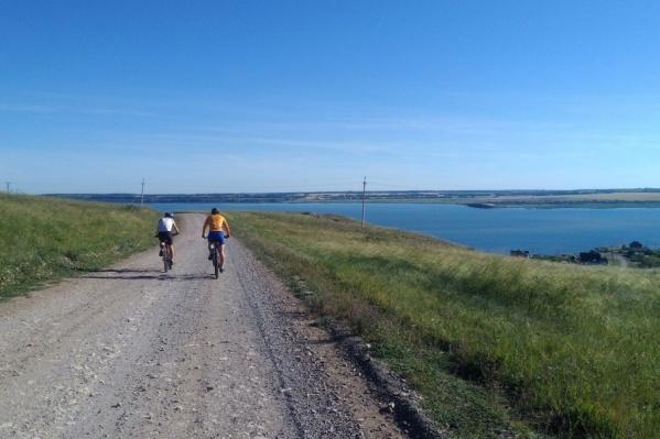 Участники-профессионалы должны проехать 74 км