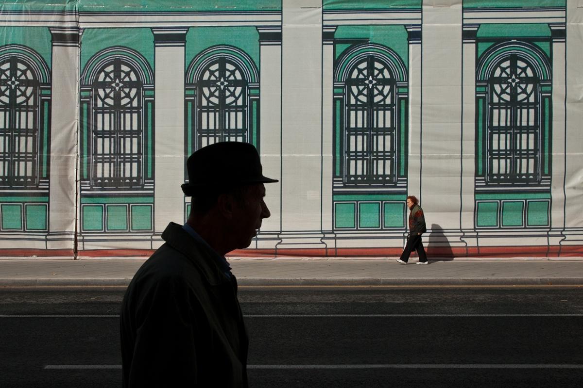 Из серии «Нарисованный город», Москва, 2014 год