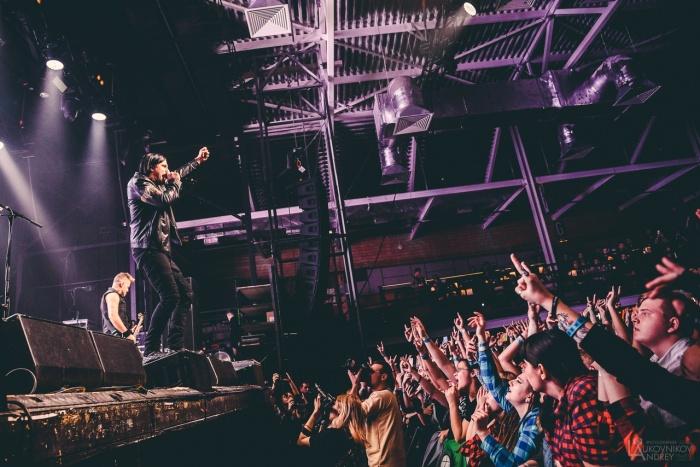 Канадские рокерыThree Days Grace уже устроили шоу в Москве и Питере, а теперь добрались и до Екатеринбурга