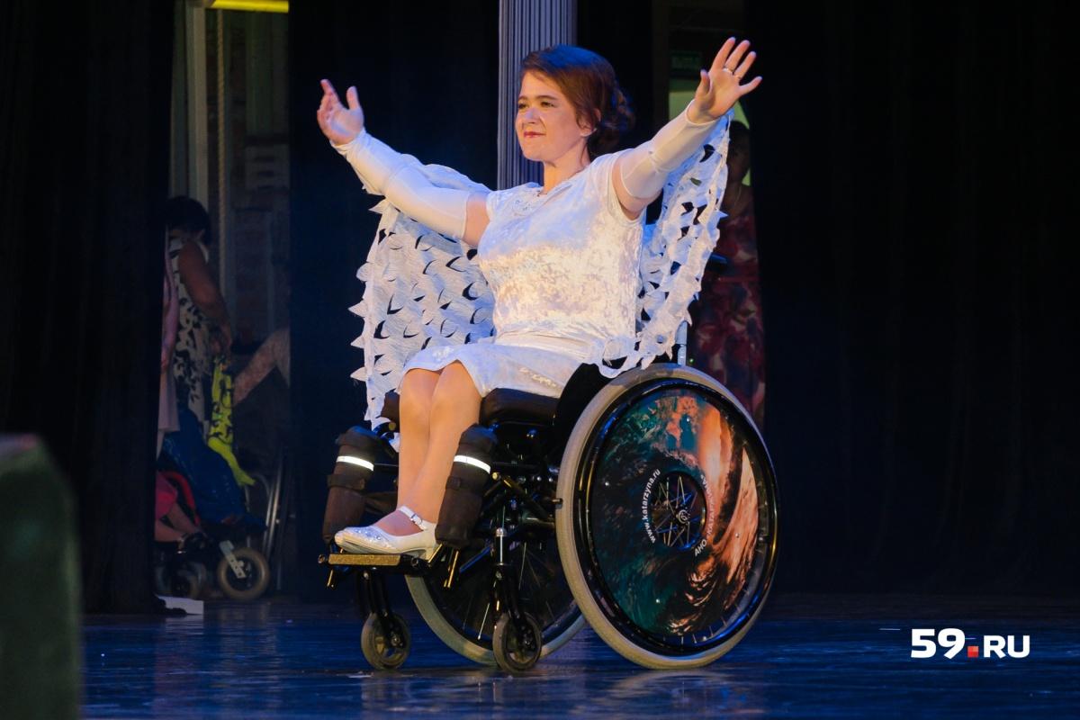 Анна Михайлова из Чебоксар выбрала для своего танца костюм с крыльями