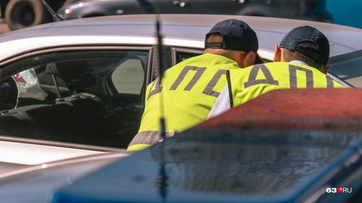На Московском шоссе автомобиль ВАЗ-2110 врезался в автобус №67