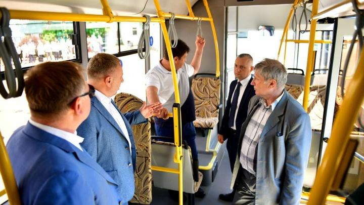 В Ярославле запустят экспериментальные автобусы