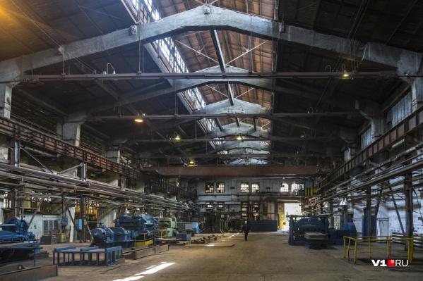 На заводе сегодня никто не работает