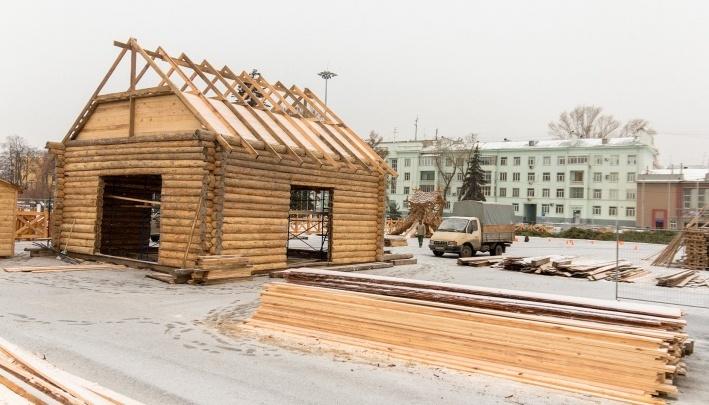 Дед Мороз не растает! В Самаре начали строить усадьбу для главного новогоднего персонажа