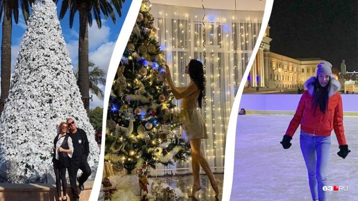 В Калифорнии и на Мальдивах: как самарские знаменитости отметили новогодние праздники