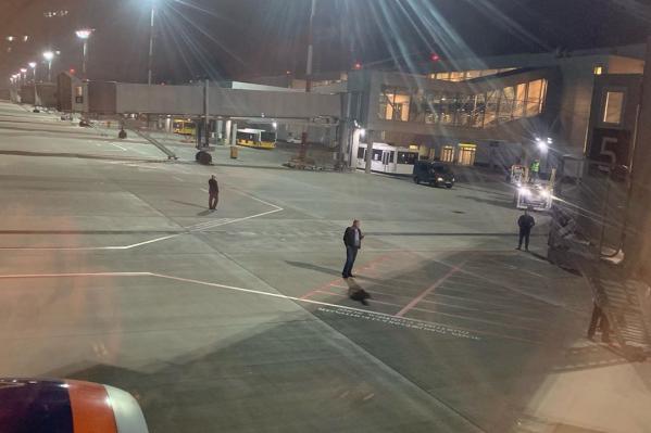 Пассажиры рейса возмущены уровнем безопасности Шереметьево