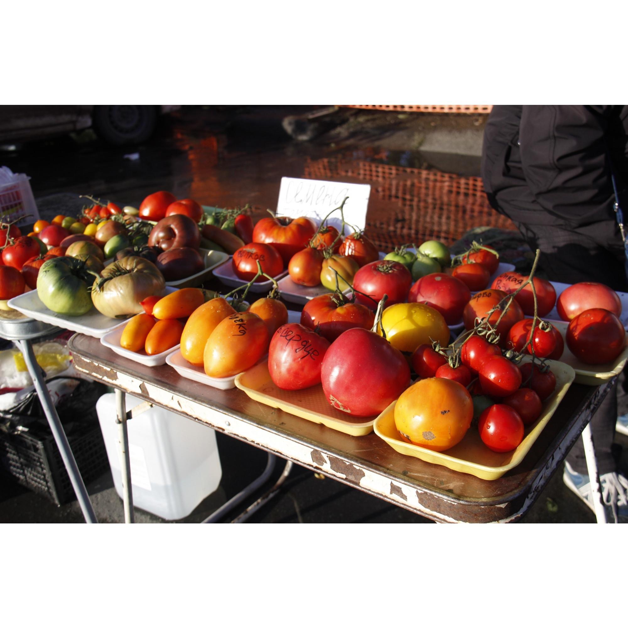 Томаты выложены для демонстрации, купить здесь можно только семена<br><br>