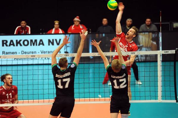Волейбол: «Локомотив» на выезде проиграл бельгийской команде