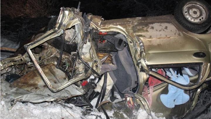 В Прикамье Daewoo Matiz столкнулась с фурой: пассажир погиб