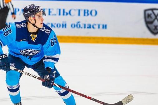 21-летний Никита Михайлов дебютировал в КХЛ в прошлом сезоне