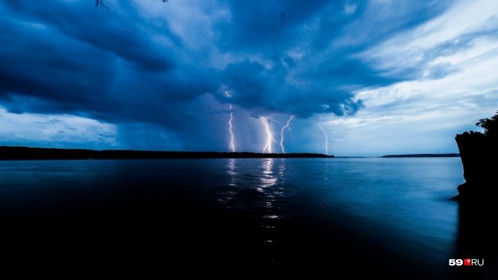 Сильный ветер и резкое похолодание: в Прикамье объявили штормовое предупреждение