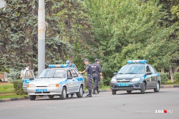 Полицейские по горячим следам задержали злоумышленника