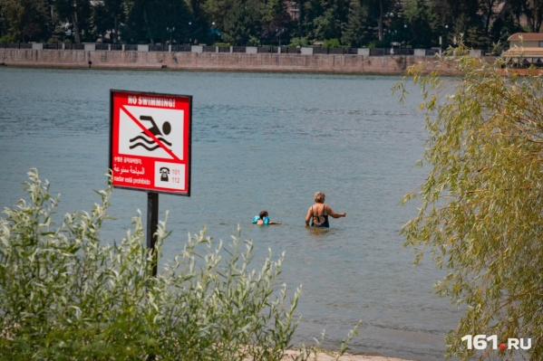 Спасатели предупреждают, что купание в водоемах в это время года может закончиться трагедией