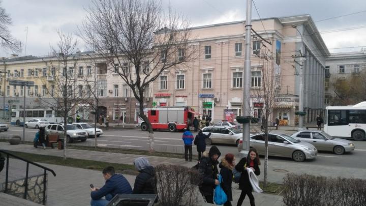 В центре Ростова троллейбус наехал на ногу пешеходу