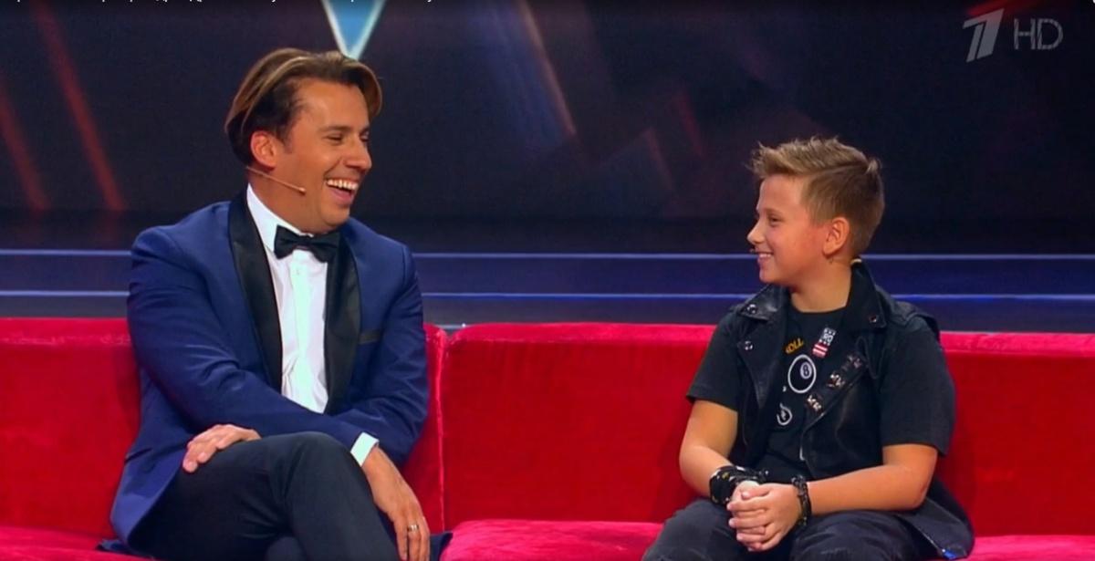 Максим Галкин отметил, что у юной звезды хорошее чувство юмора