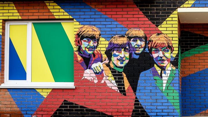 Большой брат, битлы и цветочек аленький: граффити Уфы, которые вы не видели, но захотите посмотреть