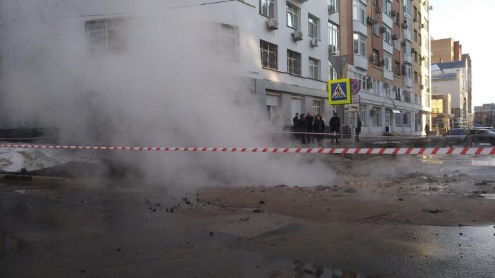 Теплоэнергетики рассказали, когда устранят аварию на Садовой
