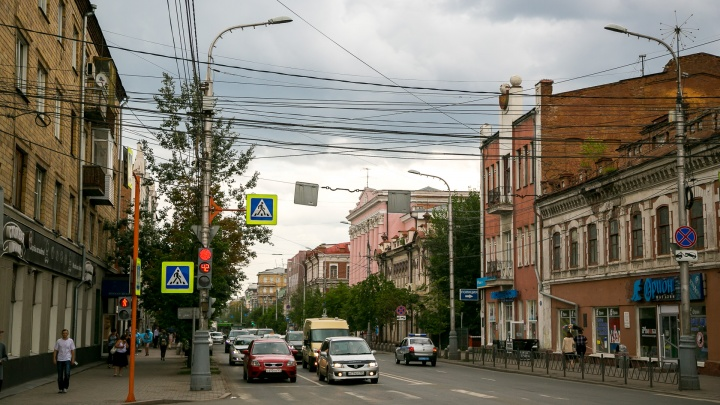 Дождь накроет Красноярск на выходных