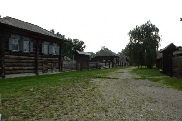 Территория«Старой деревни», где отбыл ссылку Ленин