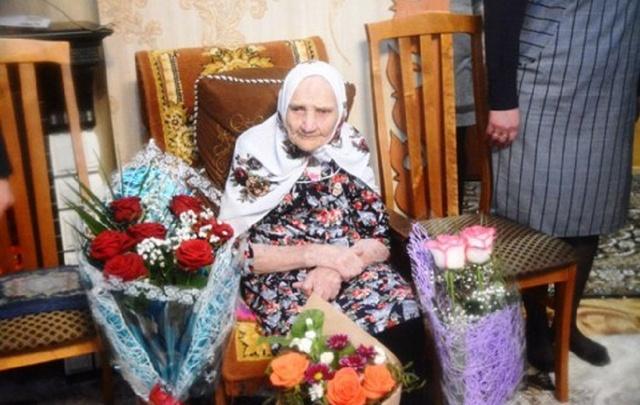 Жительница Башкирии отметила вековой юбилей
