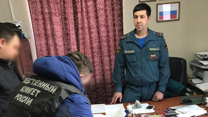 Начальника пожарной части в Челябинской области отдали под суд за обман подчинённых