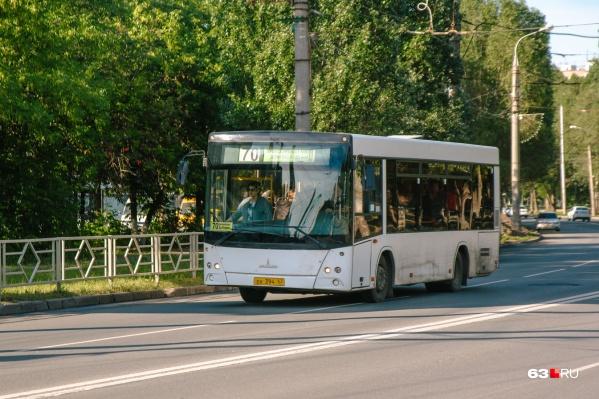 Общественный транспорт не будет заезжать на проезд Девятого мая