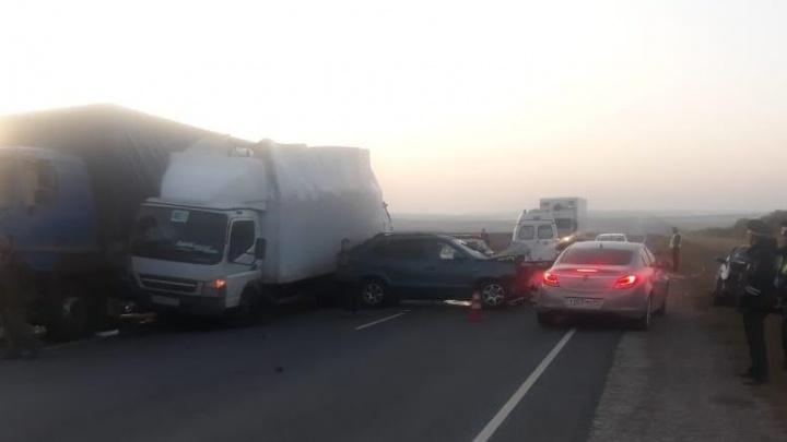 «Один погиб, двое ранены»: полиция рассказала подробности ДТП на московской трассе