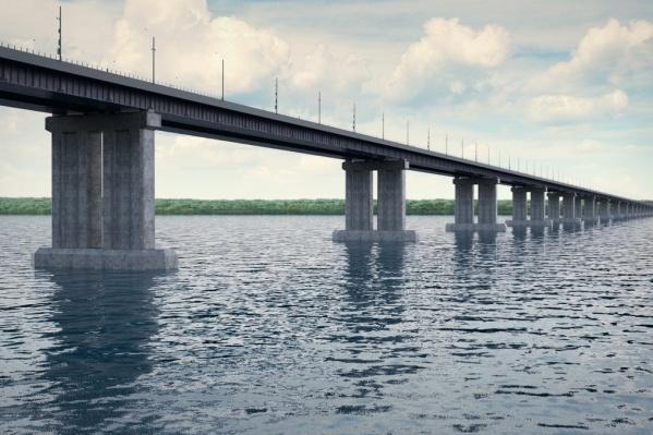 Так будет выглядеть будущий мост