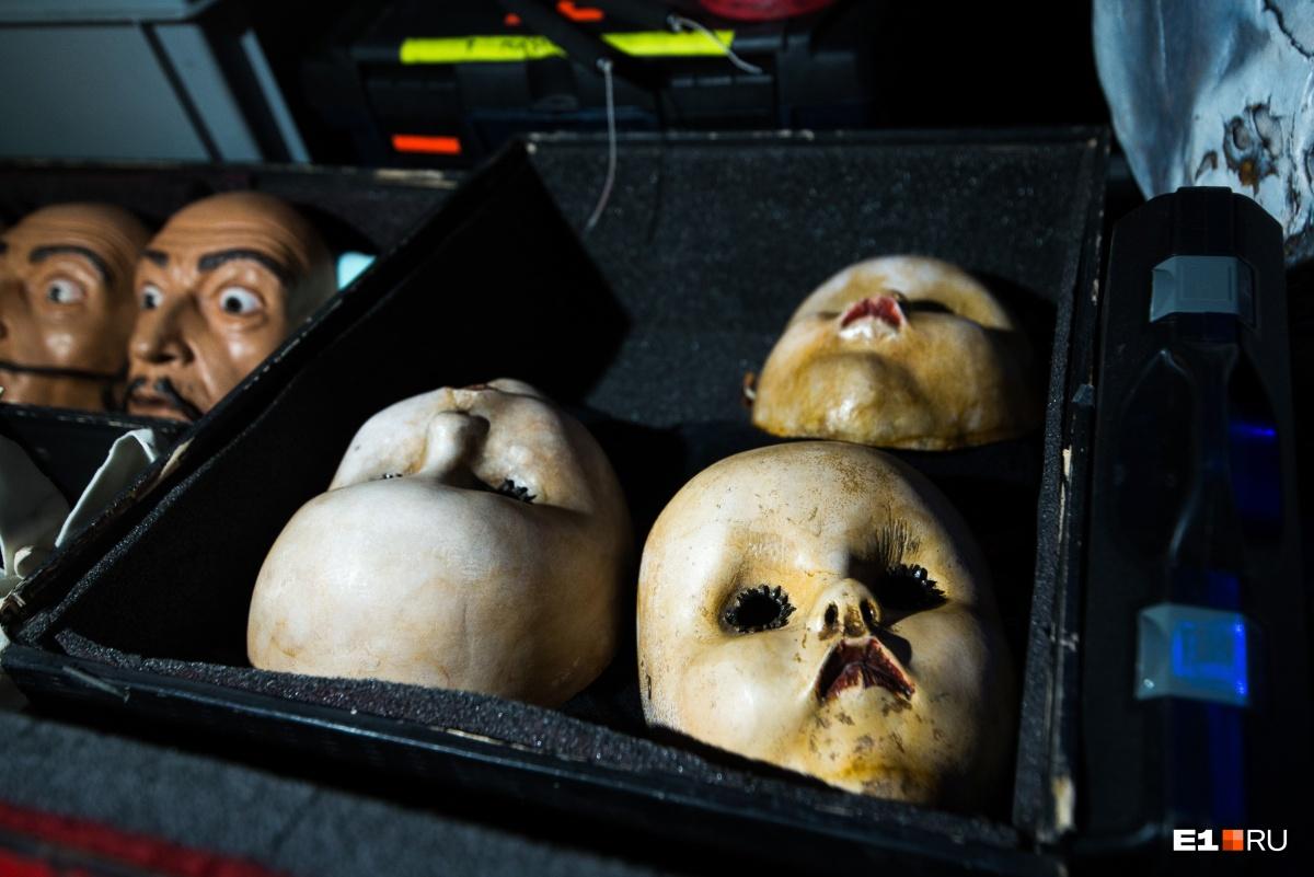И ещё маски. Только более жуткие