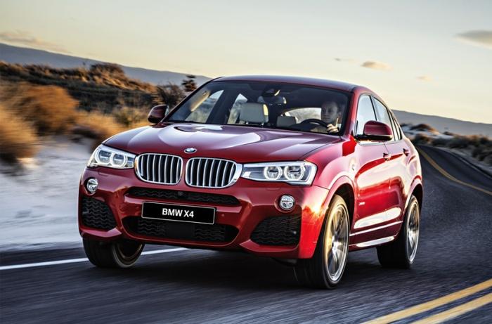Ещё можно успеть приобрести BMW X4 в понравившихся цвете и комплектации