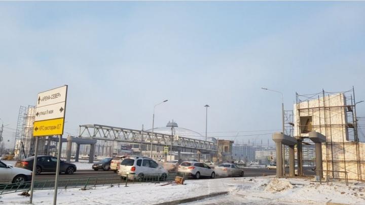 «Два виадука обошлись в 260 млн»: чиновник назвал время открытия переходов на 9 Мая и Партизана