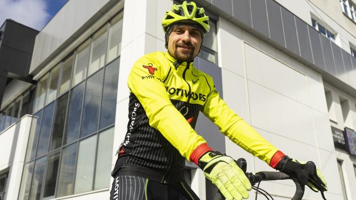 Бизнес-тренер из Екатеринбурга собрал велосипед за 250 тысяч, чтобы добраться до Испании